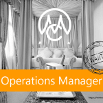 Job Operations Manager
