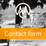 CourtesyMasters contact form