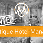 Job Boutique Hotel Manager via CourtesyMasters