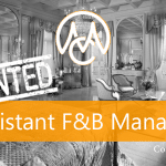 Job Assistant Food & Beverage Manager via CourtesyMasters