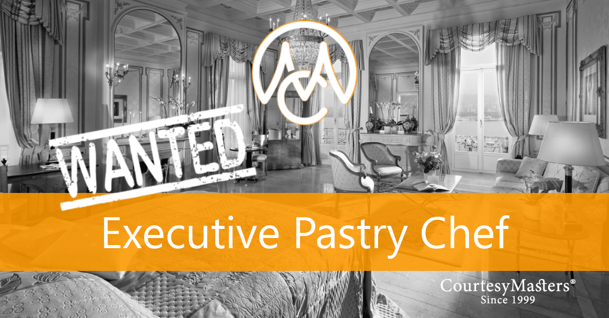 Job Executive Pastry Chef via CourtesyMasters