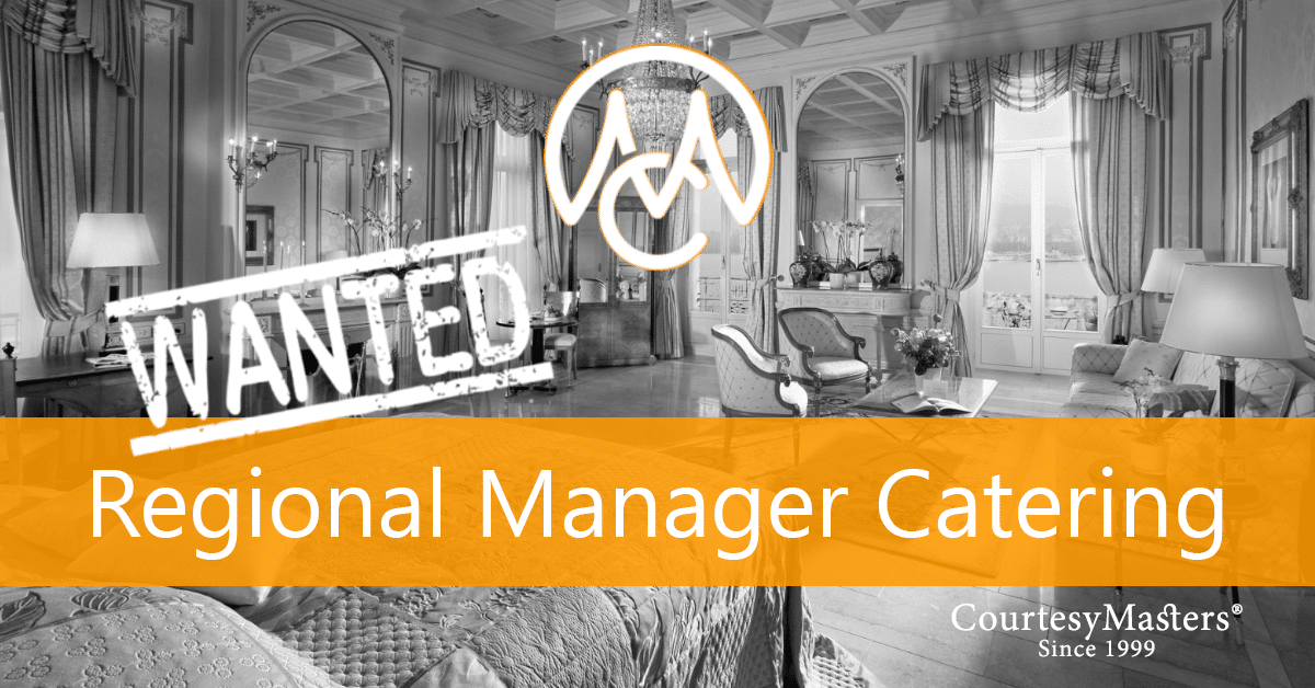 Job Regional Manager Catering via CourtesyMasters