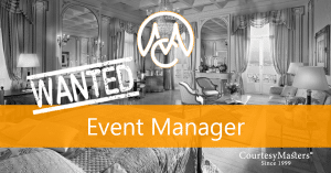 Job Event Manager via CourtesyMasters