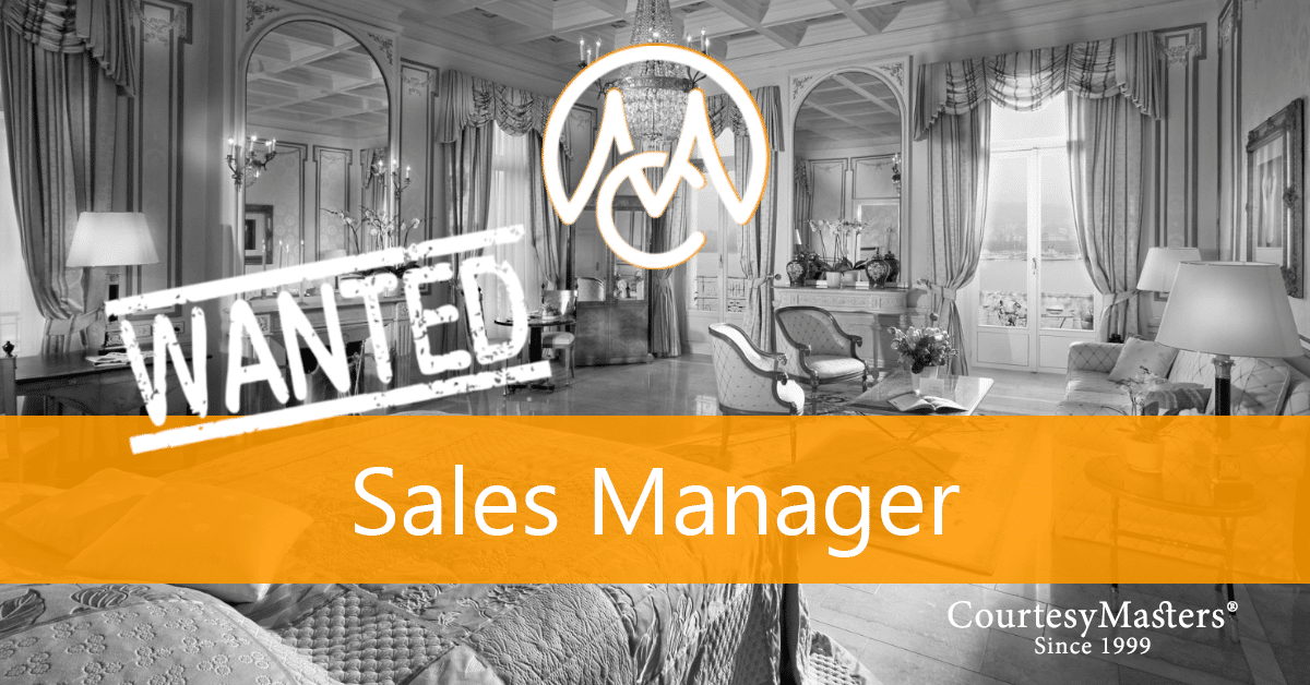 Job Sales Manager via CourtesyMasters