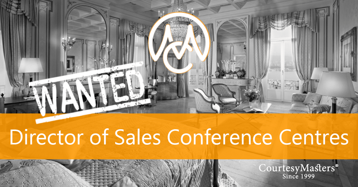 Job Director of Sales Conference Centres via CourtesyMasters